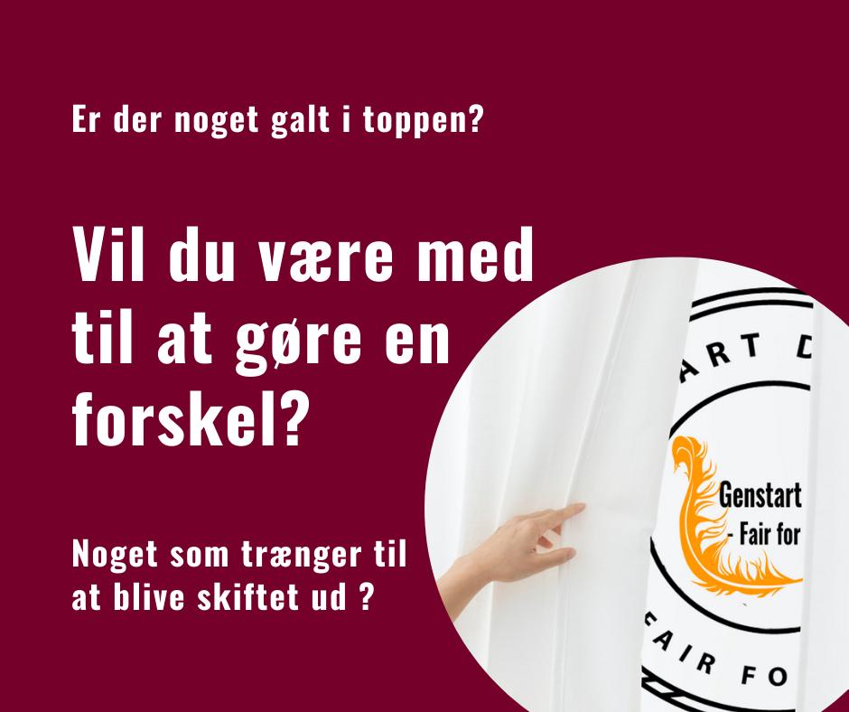 Bliv Frivillig i Genstart Danmark