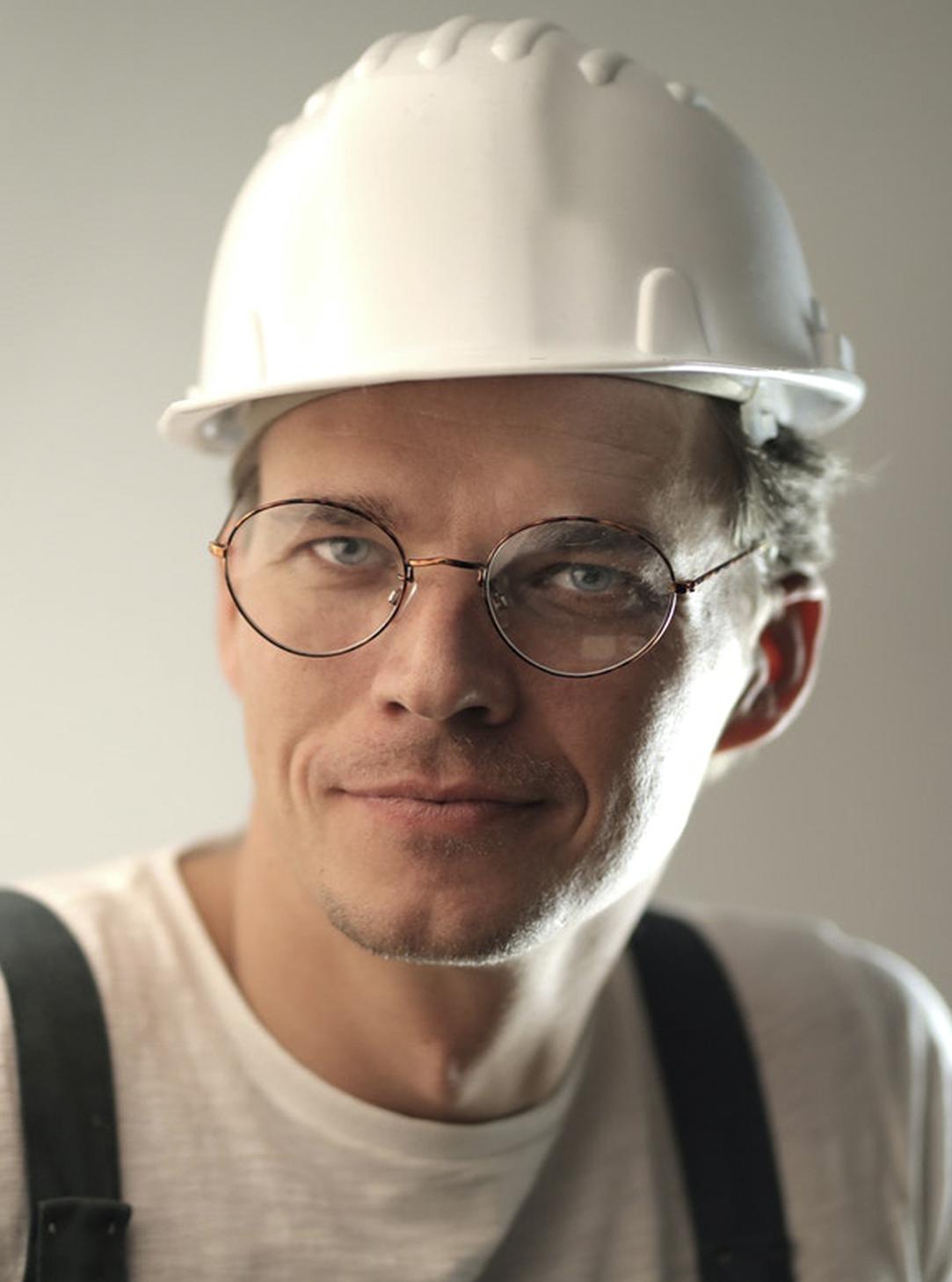 Håndværker Hans fra Genstart Danmarks Blogger-Bande