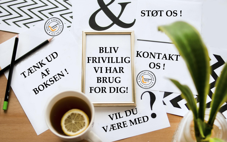 Gebstart Danmark - Bliv Frivillig